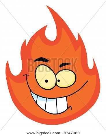 Personaje de dibujos animados de la llama
