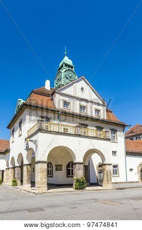 Sprudelhof In Bad Nauheim In Summer