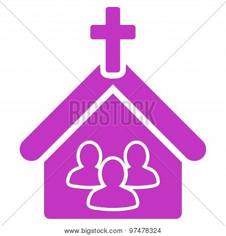 Church icon from Business Bicolor Set