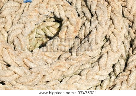 old rope texture and background