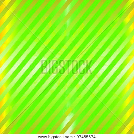 Green yellow striped background design illustration template