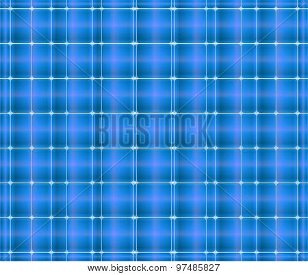 Square blue background abstract of techno style