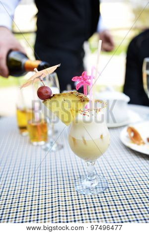 Cocktail  In Glass