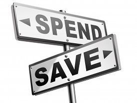 foto of time-saving  - save for later plan ahead saving money in piggy bank savings now and spend later after crisis  - JPG