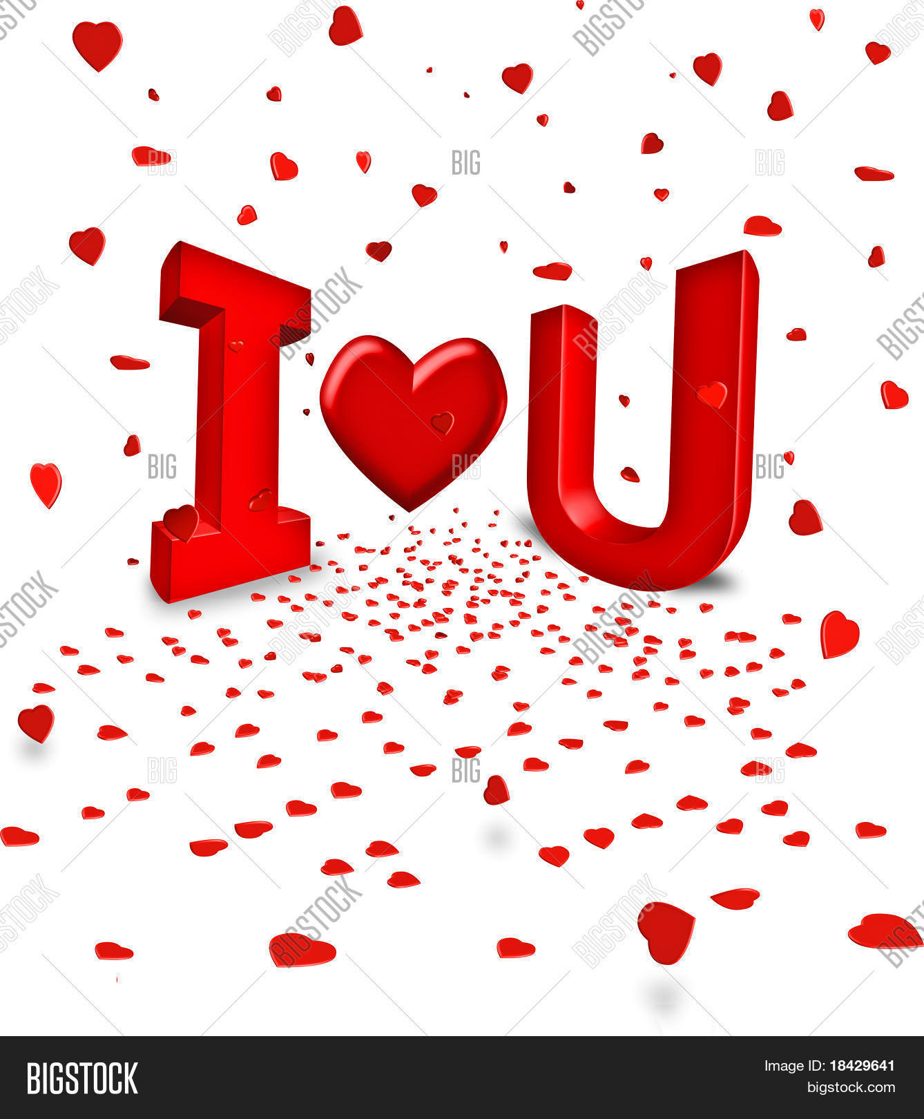 Happy Valentines Day Red Words Image  Photo  Bigstock
