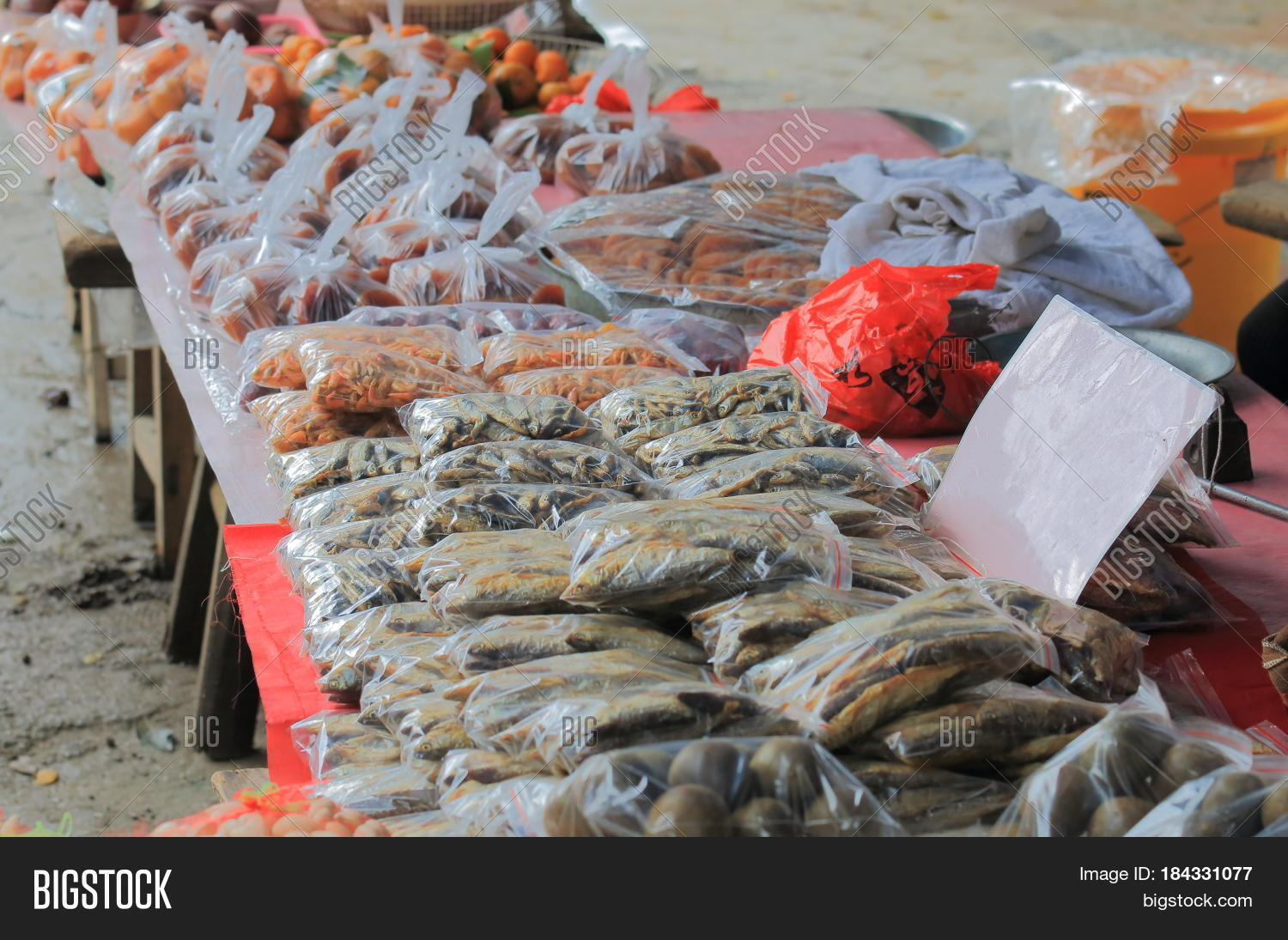 Xingping historical village fish image photo bigstock for Village fish market