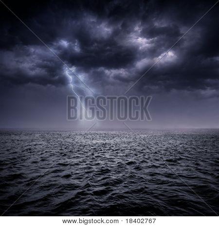 stormachtige Oceaan