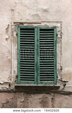 old italian window (#1o)