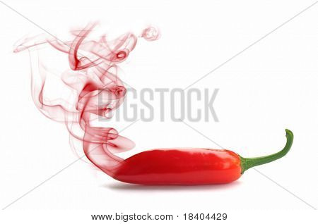 hot smoking chili