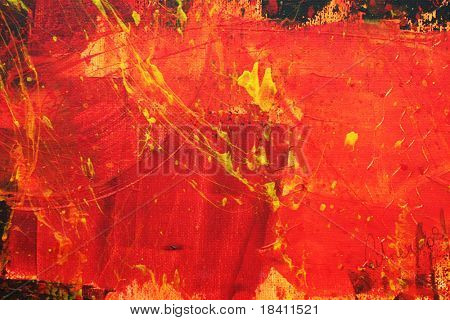 abstract background painted with acryl