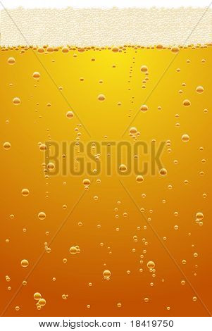 Vector illustration of light beer texture