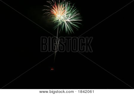 Fireworks And Night