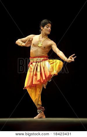 Indian Folk Dancer