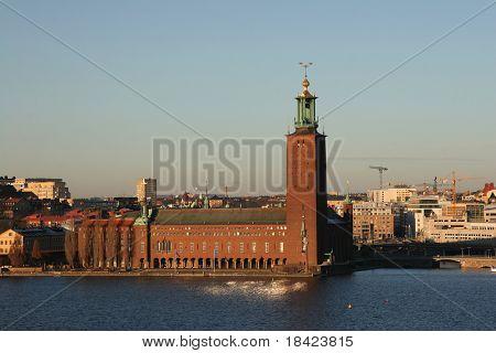 Stockholm City Hall (Stadshuset) - venue for the Nobel Prize ceremony