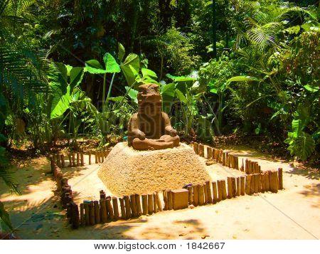 The Ancient Maya Monument Of A Meditating King Hints At Asian Roots