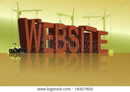 website under construction WWW building internet url http