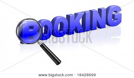 booking online ticket reservation e-ticket text blue