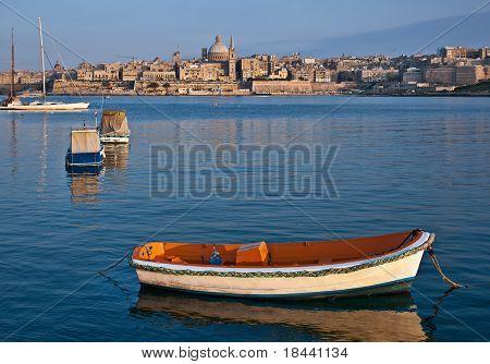 Vlletta, the capital of Malta