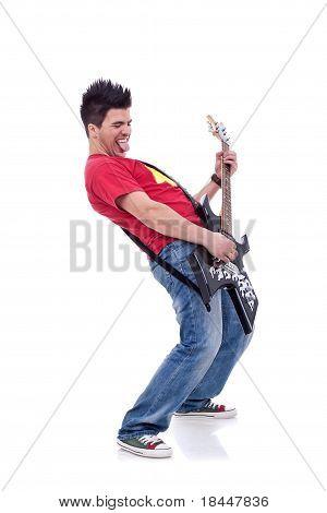 Rock Star Playing
