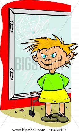 street urchin - boy