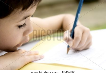 Enjoying His  Writing