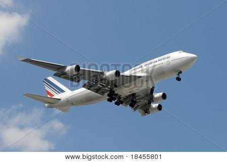 Air France Jumbo Jet