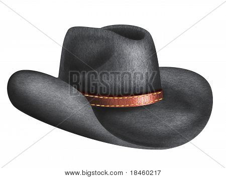 Hat For Man Isolated On White