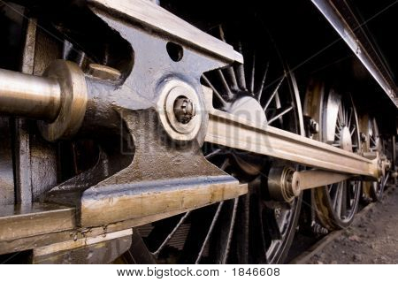 Steam Locomotive Wheel