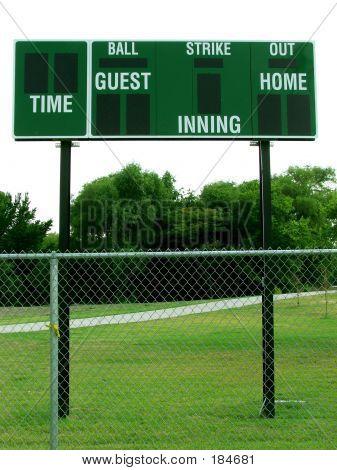 Green Score Board