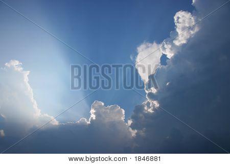 Dramatische Wolken, Horizontal