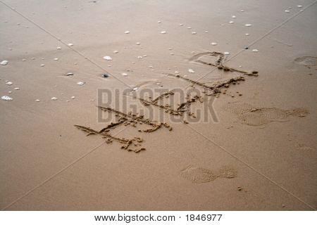 Sand Writing - Help