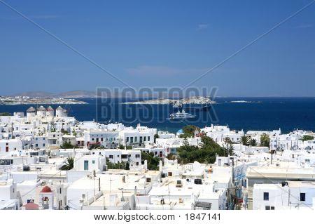 Cityscape Of Mikonos
