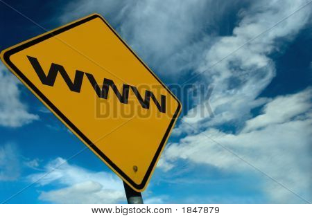 A Www Sign