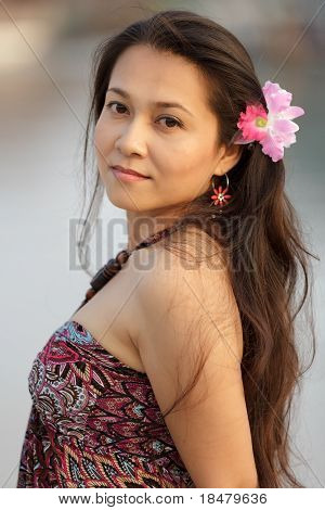 Beautiful Thai Woman