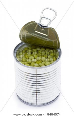 Can of peas