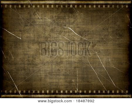 Texture with old film background