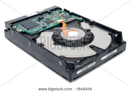 Internal Hard Disc (Perspective View)