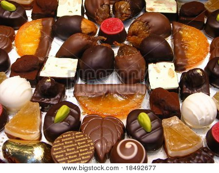 Various chocolates