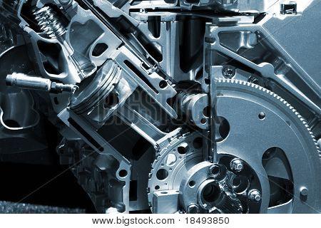 Teil ein Automotor.