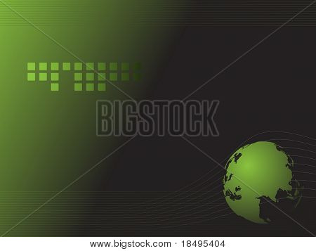 Vector - Dynamic high tech retro wave for background use