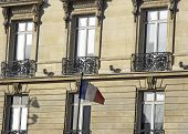 Paris Architecture And Pride poster