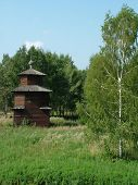 Russia, Kostroma, Museum Of Wooden Architecture. Chapel 1. poster