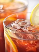 pic of iced-tea  - iced tea macro - JPG