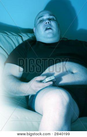 Lazy teleadicto