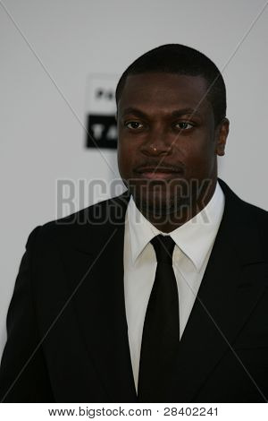ANTIBES - MAY 20: Chris Tucker at the AMFAR Cinema Against Aids Gala at the Hotel Du Cap on  May 20, 2010 in Antibes, France