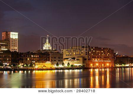Savannah-Stadtansicht