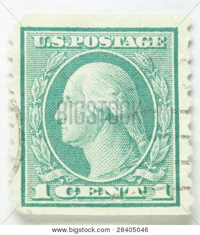 George Washington Postage Stamp 1912-1914