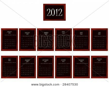 2012 Frames Calendar