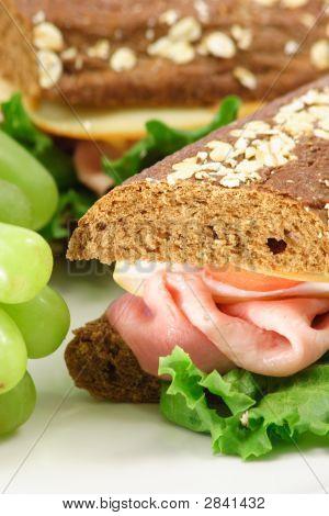 Whole Grain Bread Sandwich