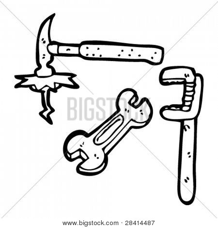 tools cartoon